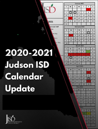 Updated 2020-2021 School Calendar