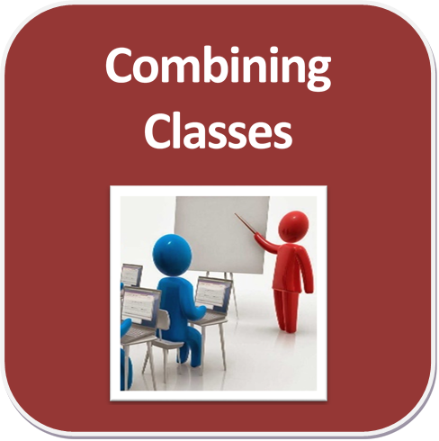 Combining classes by cross-listing